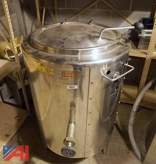 Groen  AE-20, 20 Gallon Jacketed Kettle