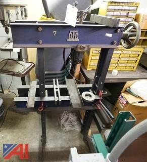 2) Pc OTC HYD H-Frame Press, Rockwell Drill Press