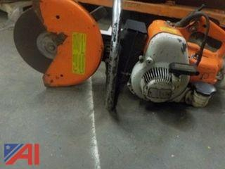 Stihl TS 350 Super Chopsaw