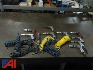 Lot of (10) Aro Pneumatic Screw Drivers