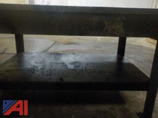 Industrial Steel Welding Table