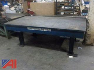 Heavy-Duty Welding Table