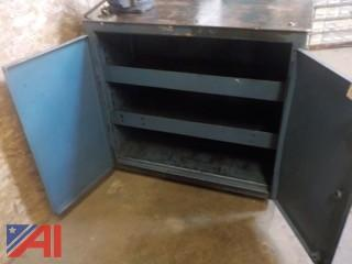 Large Workbench Cabinet with Vice
