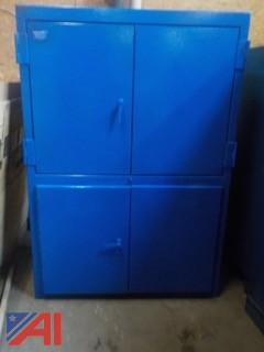 Industrial 4 Drawer Parts Cabinet