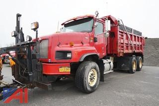 2002 International 5600-I Paystar Dump With Everest Plow & Sander