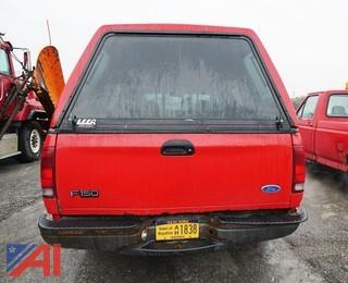 1997 Ford F150 Pickup Truck With Cap