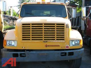 1992 International 4900 Flatbed