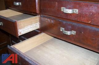 Antique High top drawer unit
