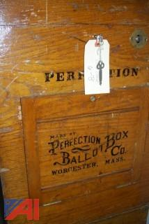 Lot of 3 Antique Ballot Boxes