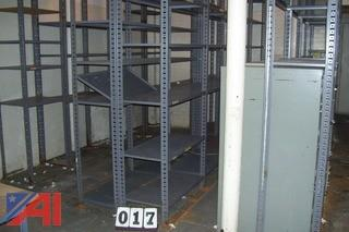 Lot of Button Rack shelving