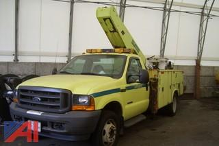 2001 Ford F450 Bucket Truck (E# 34479)