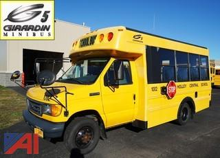 2006 Ford E350 Girardin Mini School Bus