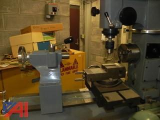 Grizzly Model  # G4015 Combo Lathe w/ Milling