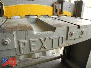 Pexto 137-K 37″ Metal Stomp / Foot Shear