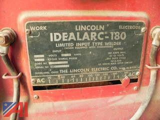 Lincoln Idealarc-180 Arc Welder