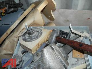 Various Wood Lathe Tools