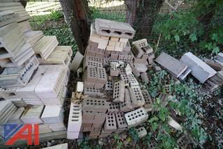 Assorted Blocks and Bricks Surplus Masonry Stock