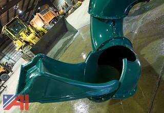 Swing-N-Slide Twist Tunnel Slide Section