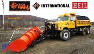 2003 International S2574 6 x 4 10 Wheeler Dump Truck Plow & Spreader