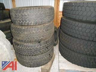 (4) Mastercraft Courser A/T 265/70R17 Tires