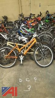 Approximately (20) Assorted Bicycles