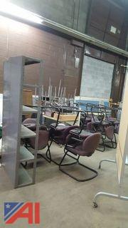 Lot of Assorted Chairs and More