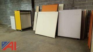 Lot of Assorted Office Partitions and More