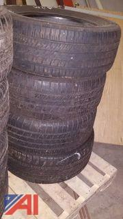 (12) Assorted Tires