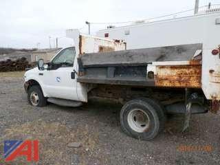 2002 Ford F350 Regular Cab Dump Truck