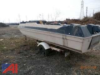 16' Boat & Trailer