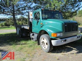 2002 International 4700 Flat Bed Truck