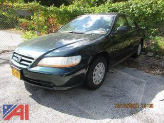 2001 Honda Accord 4 Door