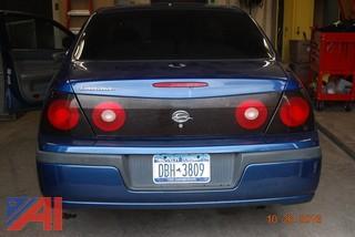 2005 Chevrolet Impala 4 Door Sedan