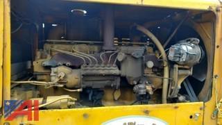 1967 Caterpillar 120G Motor Grader Road Grader