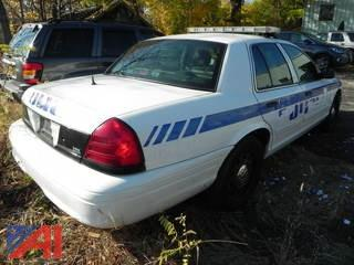 2009 Ford Crown Victoria 4DSD/Police Interceptor