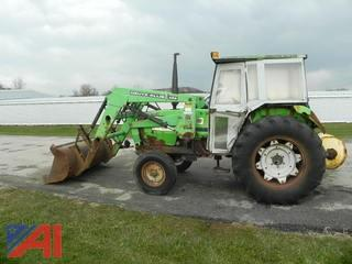 1988 Deutz-Allis 6250 Tractor w/ Loader & Cab