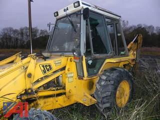1990 JCB 1400B Extra Dig Backhoe
