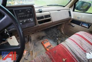 1992 Chevy Cheyenne 2500 Series Pickup Truck