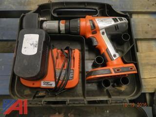 FireStorm Cordless Drill Kit