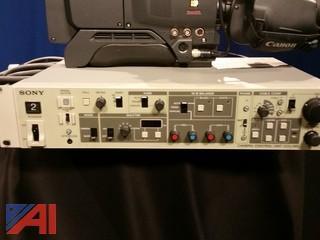 SONY DXC35 Video Camera-Studio Configuration