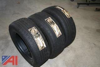"(5) NEW 15"" Tires"