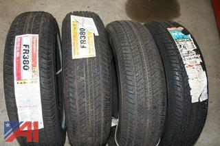 """(6) NEW 14"""" Tires"""