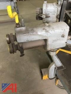 Bench Mounted Motor with Various Crimpers