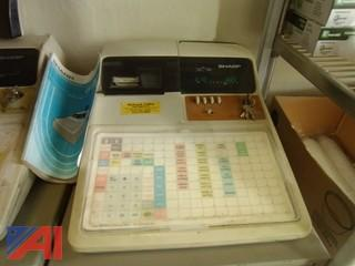 Sharp Electronic Cash Register