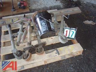 Yale 1 Ton Chain Hoist and Jacks