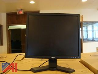 """Lot of 72 Dell 19"""" Flat Screen Monitors Model # 1908FPt"""