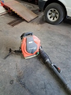 Husquvarna 356BT Back Pack Leaf Blower