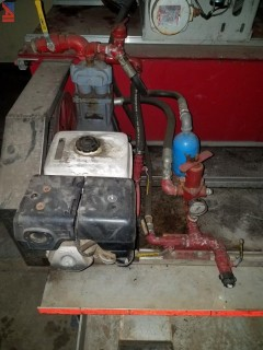 Brush Tire Fire Pump