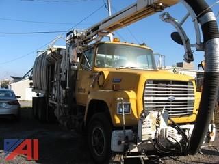 1990 Ford L8000 Sewer Vac Truck