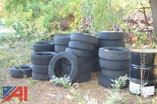 Mixed Lot Of 60 Scrap Tires